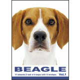 THE DOG ビーグル グリーティングカード